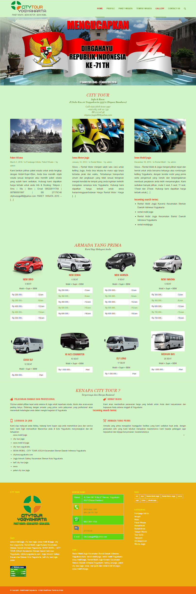 Bikin Website Rental Mobil