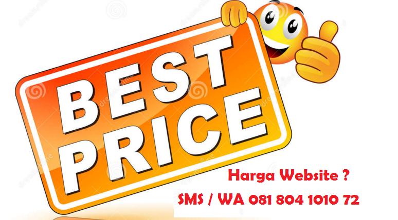 Jasa Pembuatan Website Jogja / Yogyakarta 081804101072