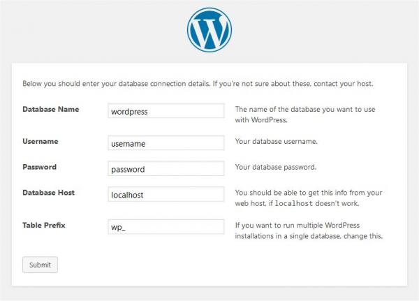 panduan instalasi wordpress dengan ftp