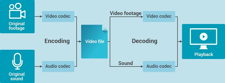 cara kerja video codec video audio