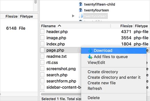 cara membuat custom page di situs wordpress 1