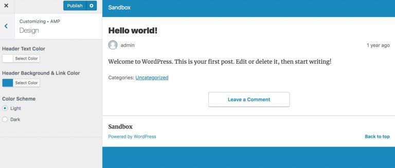 cara membuat setup AMP WordPress yang benar 2