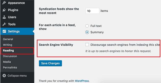 cek visibility mesin telusur search engine wordpress seo