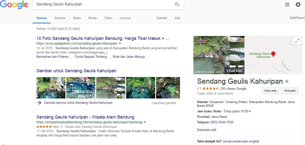 jasa pembuatan google maps bandung