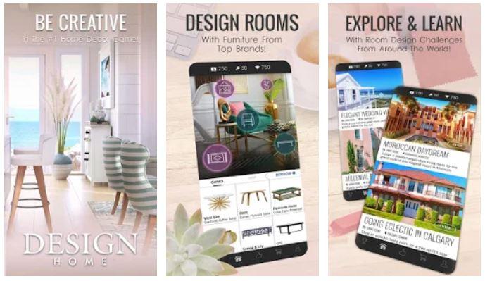 Aplikasi desain rumah 3D android - Design-Home
