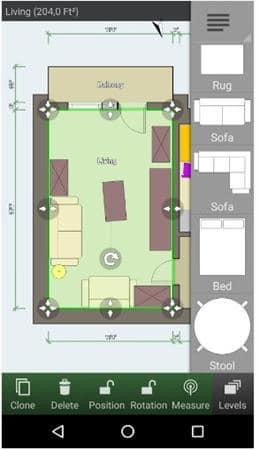 Aplikasi desain rumah 3D android - Floor-Plan-Creator