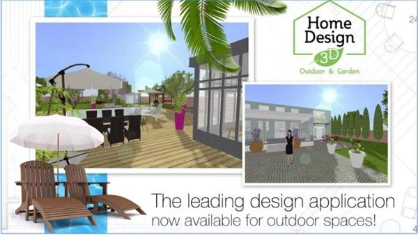 Aplikasi desain rumah 3D android - Home-Design-3D-Outdoor-Garden