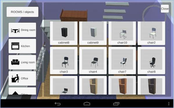 Aplikasi desain rumah 3D android - Room-Creator-Interior-Design