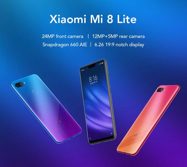 HP Flagship Harga Murah Terbaik 2019 Xiaomi Mi 8 lite