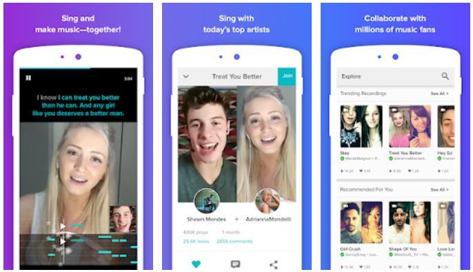 aplikasi karaoke android gratis terbaik-Smule