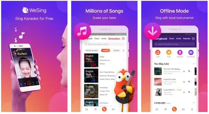 aplikasi karaoke android gratis terbaik-Wesing