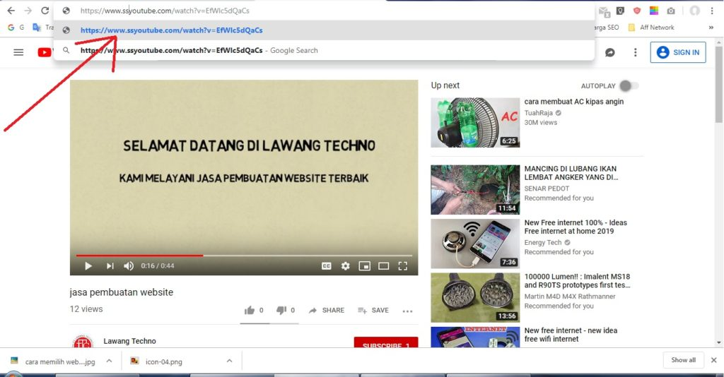 cara download video youtube termudah lengkap 1