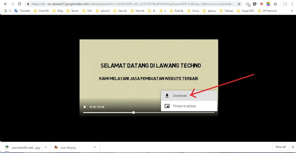 cara download video youtube termudah lengkap 5