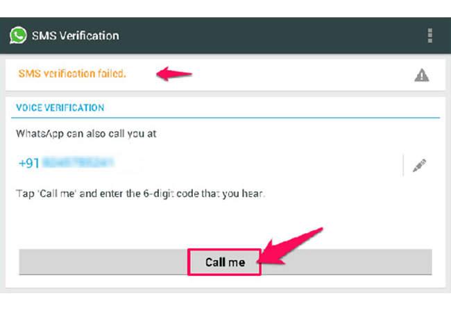 cara untuk instal dan verifikasi Whatsapp tanpa nomor telepon