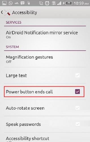 fungsi tersembunyi tombol power di samsung android