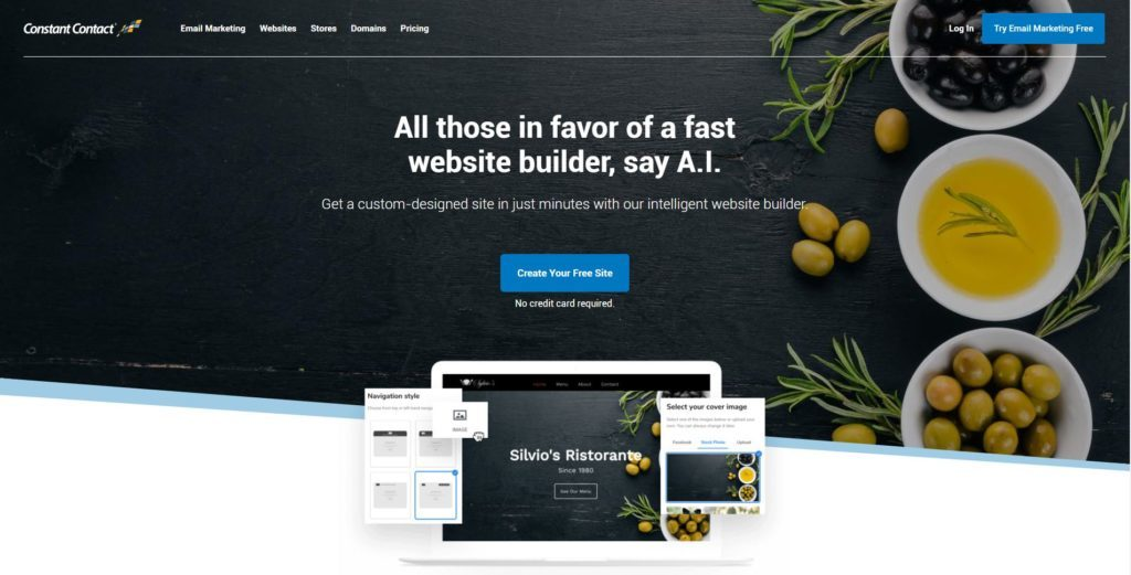 website builder terbaik - ConstantContact-review