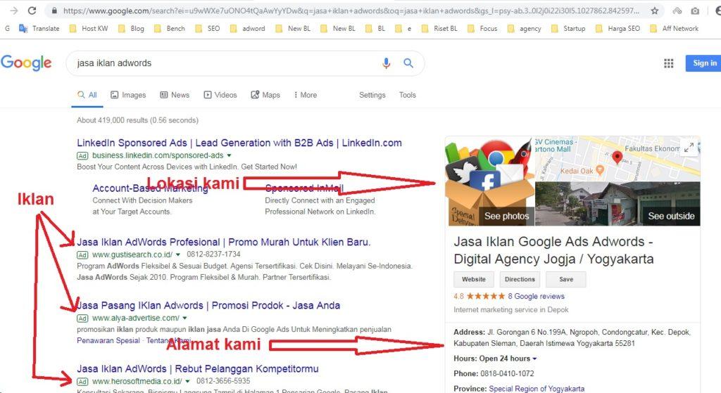 jasa marketing online jogja