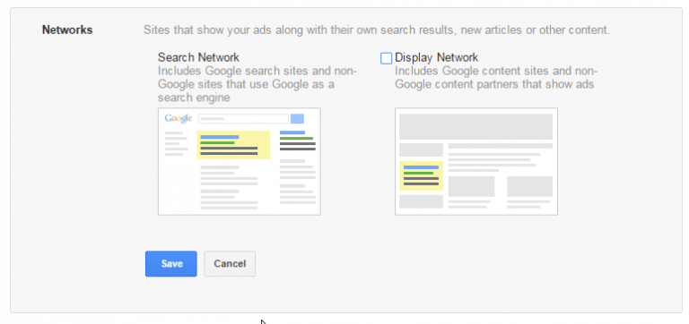 cara beriklan Google Ads search-network-display-network