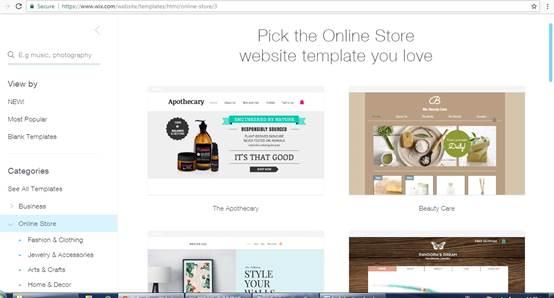 cara membuat website wix dan menggunakan wix (1)