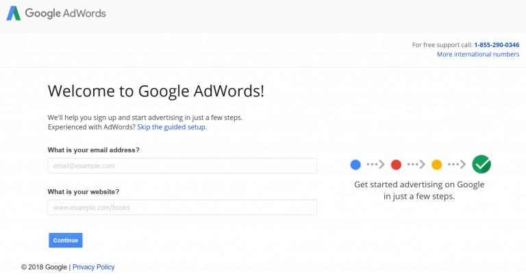 cara mendaftar Google Ads Google Adwords