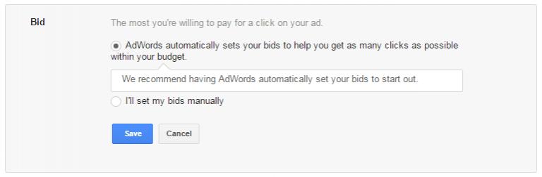 cara setting bid adwords google ads lelang