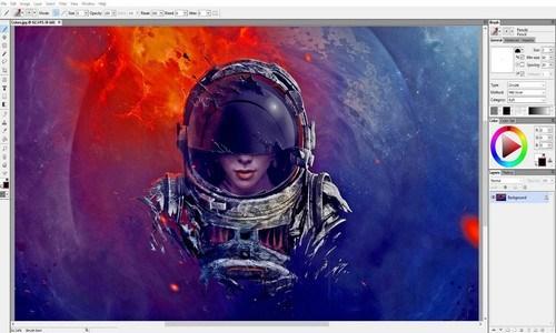 Aplikasi edit foto dan efek lukisan - ARTWEAVER
