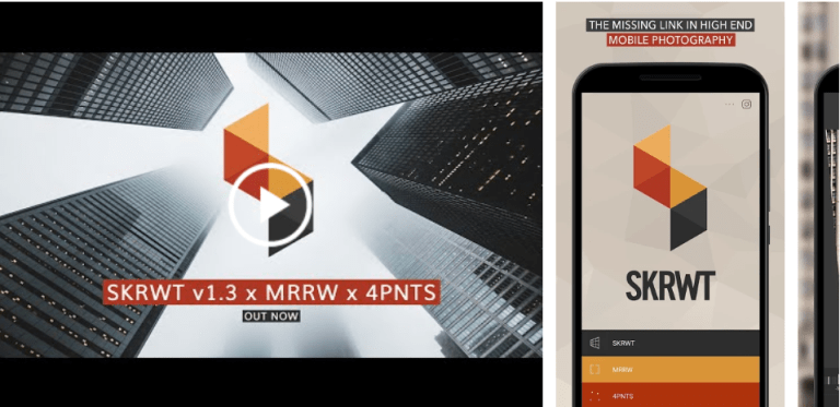 Aplikasi edit foto perspektif dan koreksi distorsi lensa - SKRWT