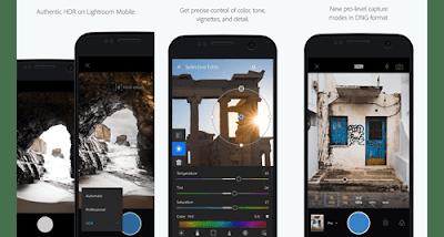 Aplikasi edit foto terbaik -Adobe Photoshop Lightroom