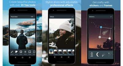 Aplikasi edit foto terbaik -Aviary