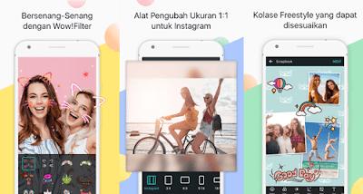 Aplikasi edit foto terbaik -Photo-Grid