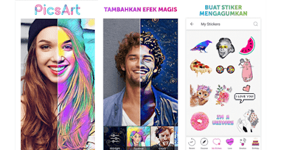 Aplikasi edit foto terbaik -PicsArt Photo Studio