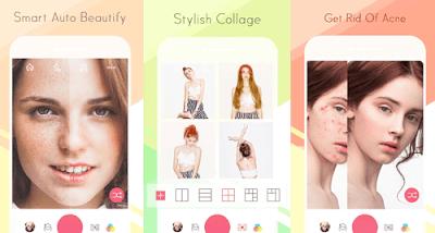 Aplikasi edit foto terbaik -Sweet-Selfie