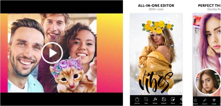 aplikasi edit foto Android - picsart