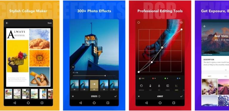 aplikasi edit foto ringan - fotor