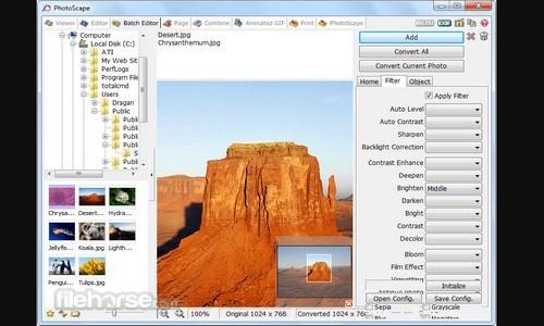 aplikasi edit foto yang mudah dan ringan - PHOTOSCAPE