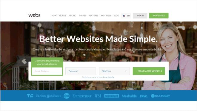 aplikasi website - Webs