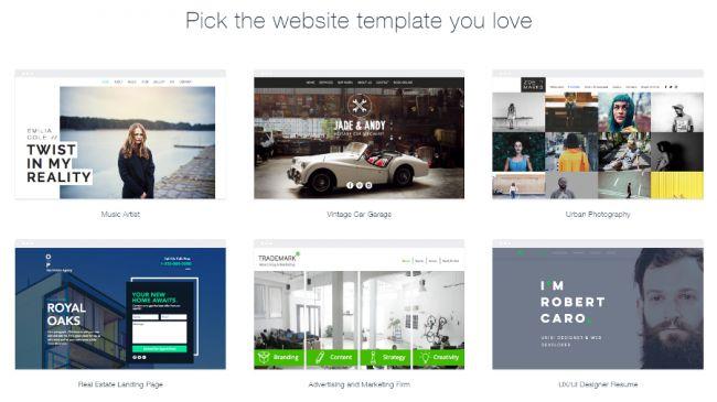 aplikasi website wix