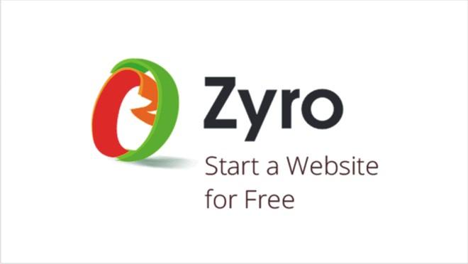 aplikasi website - zyro