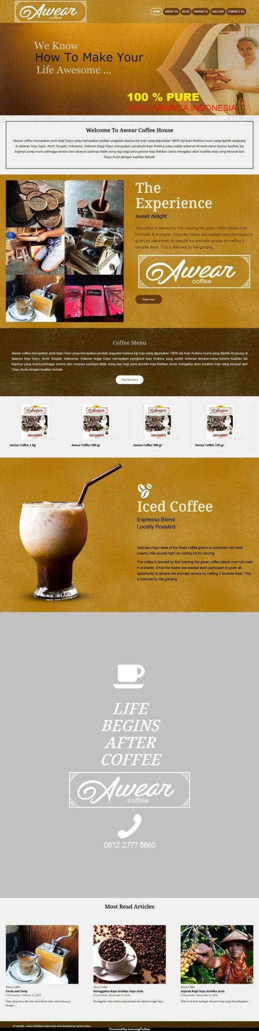 Awear Coffee