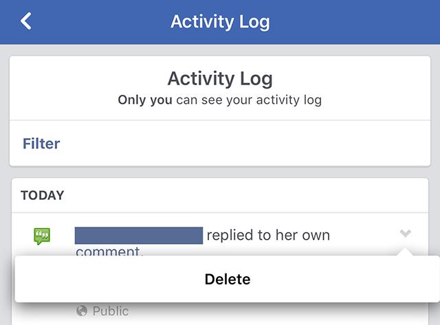 cara hapus riwayat pencarian facebook