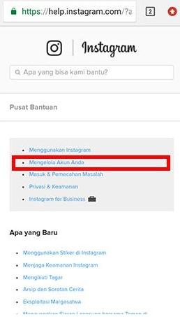 cara memblokir menutup akun instagram sendiri dengan hp (2)