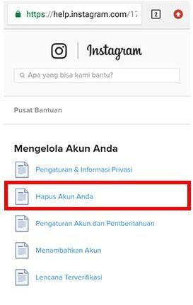 cara memblokir menutup akun instagram sendiri dengan hp (3)