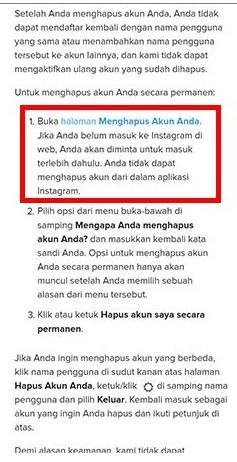 cara memblokir menutup akun instagram sendiri dengan hp (6)