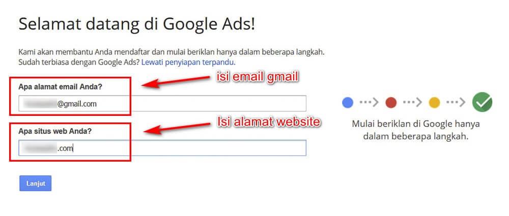 cara pasang iklan di Google Ads