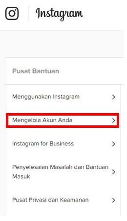 cara tutup memblokir akun instagram sendiri secara permanen (1)