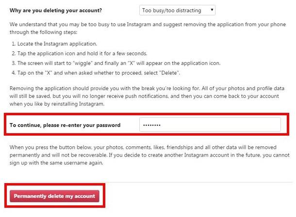 cara tutup memblokir akun instagram sendiri secara permanen (6)