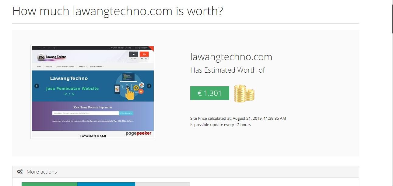check harga website