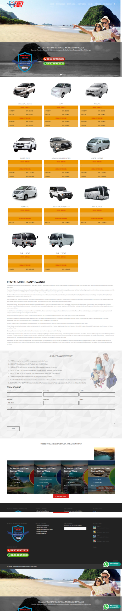 jasa pembuatan website banyuwangi