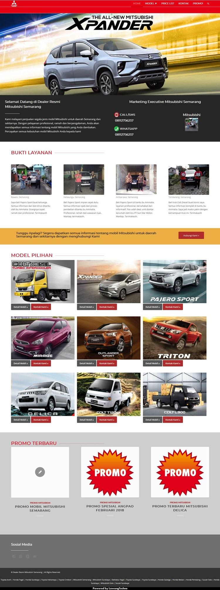 Mitsubishi semarang dealer