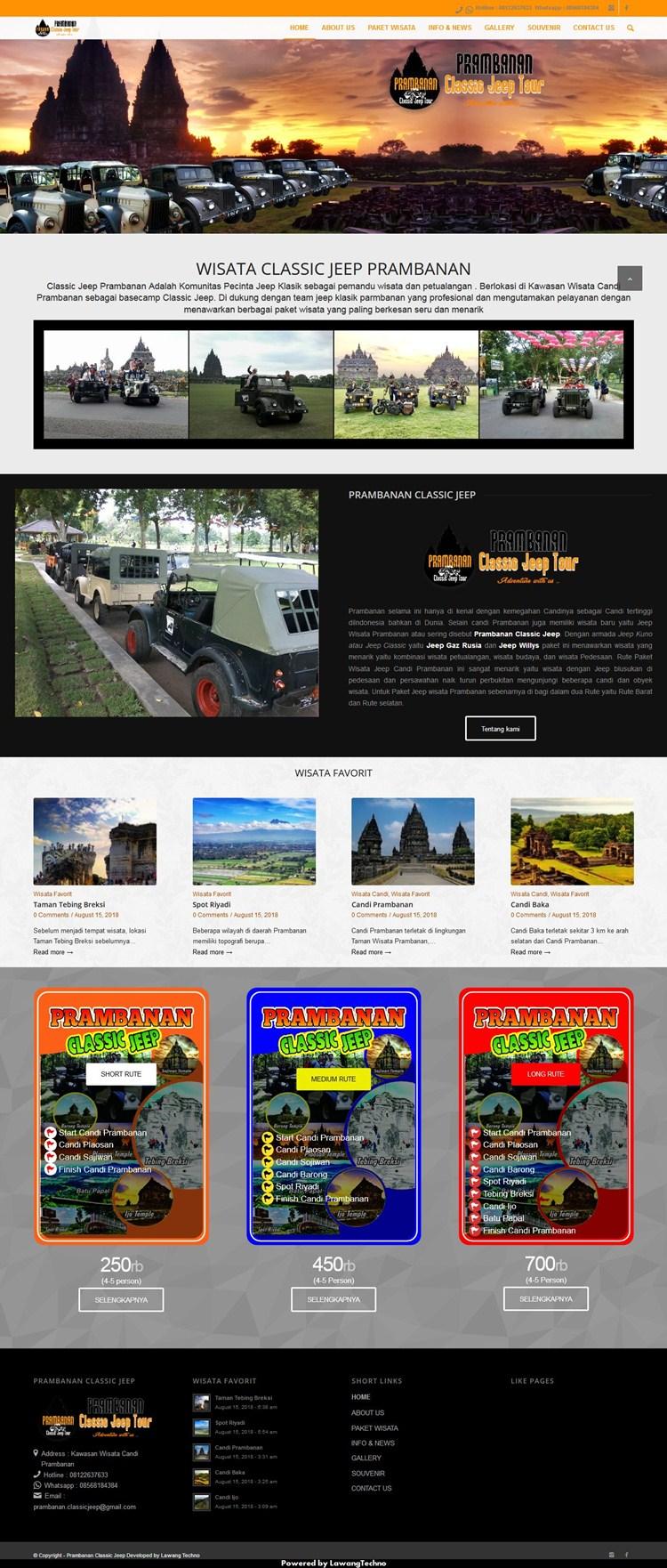 prambanan classic jeep